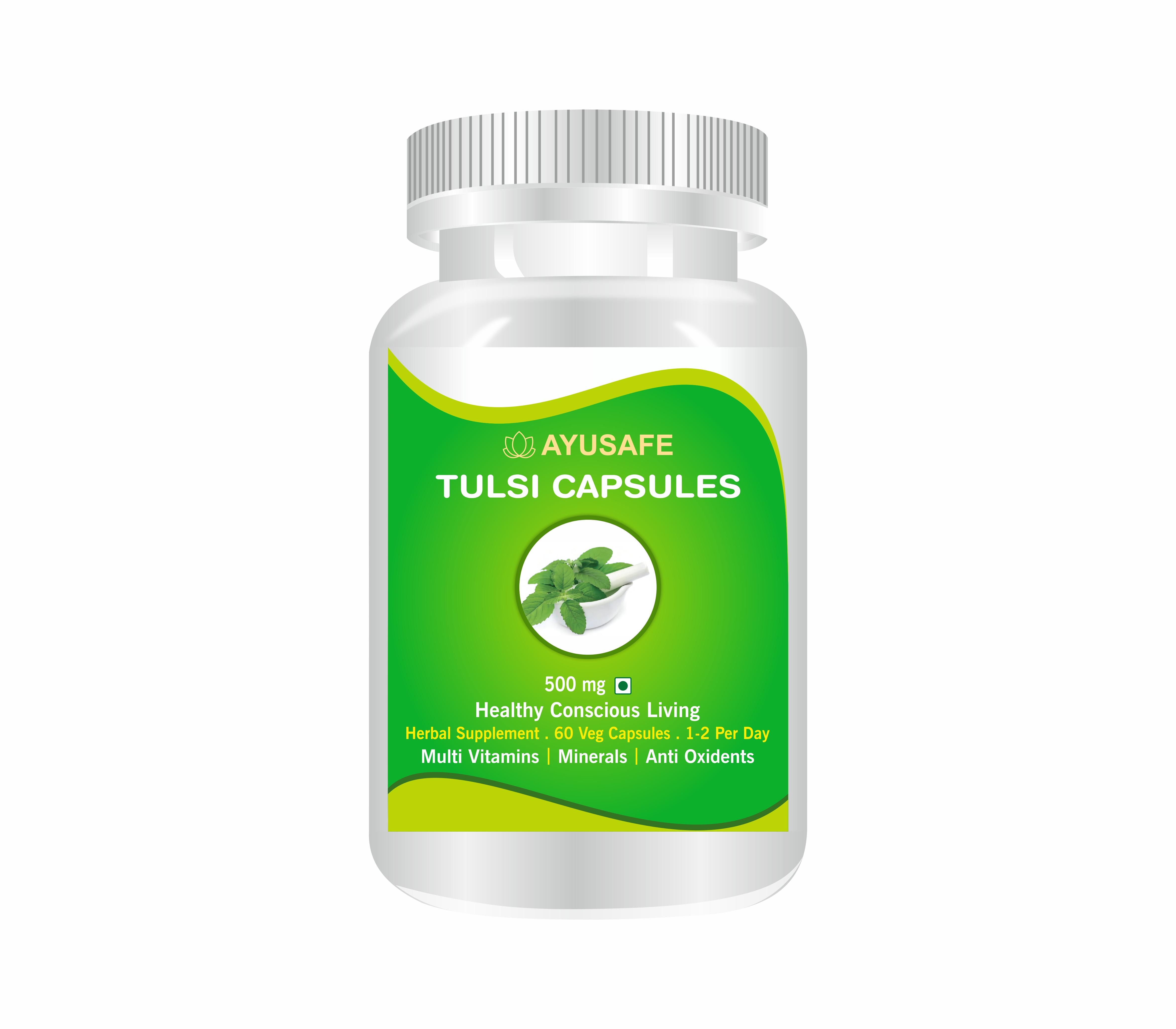 Organic Tulsi Capsule