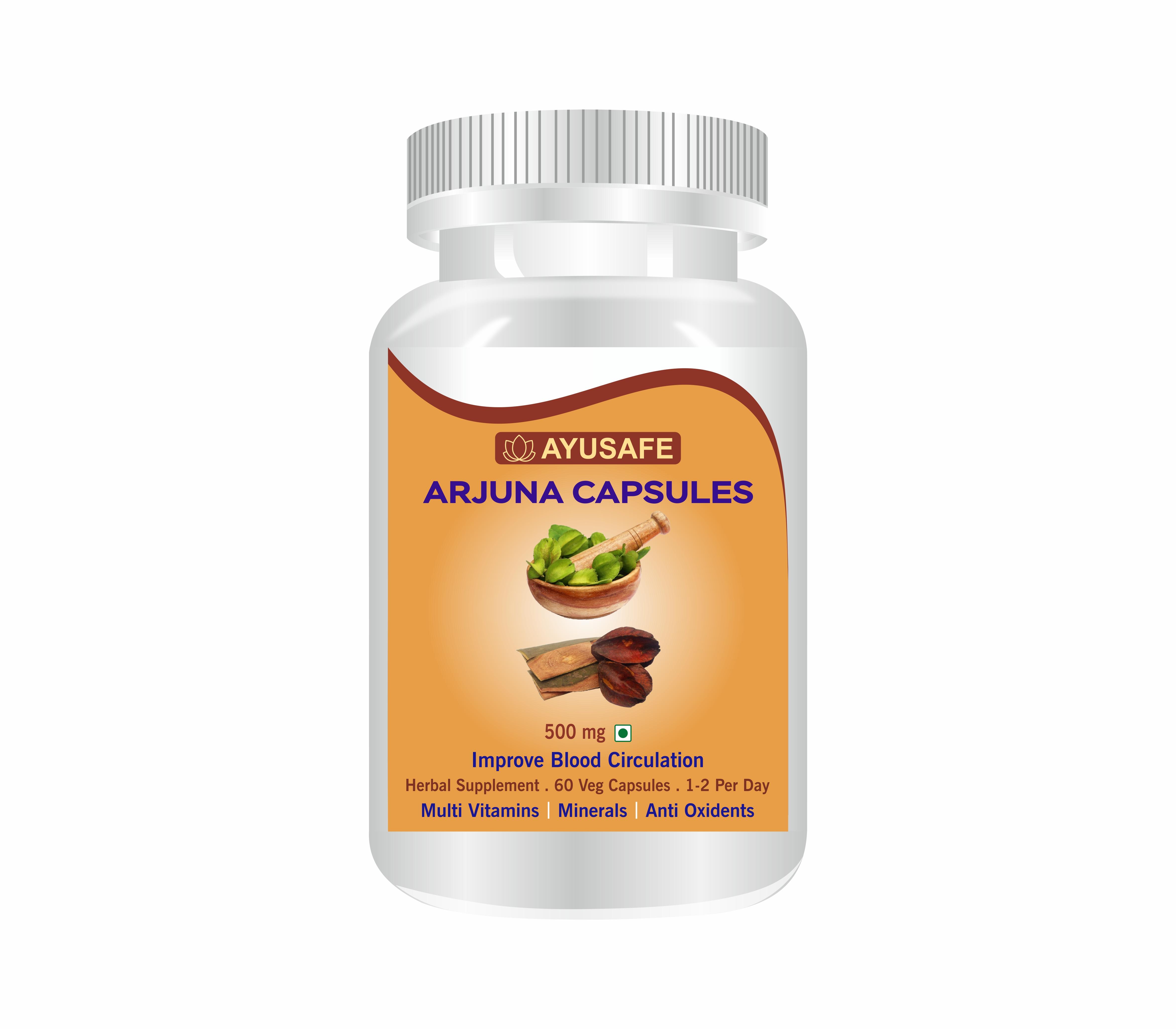 Organic  Arjuna Capsule